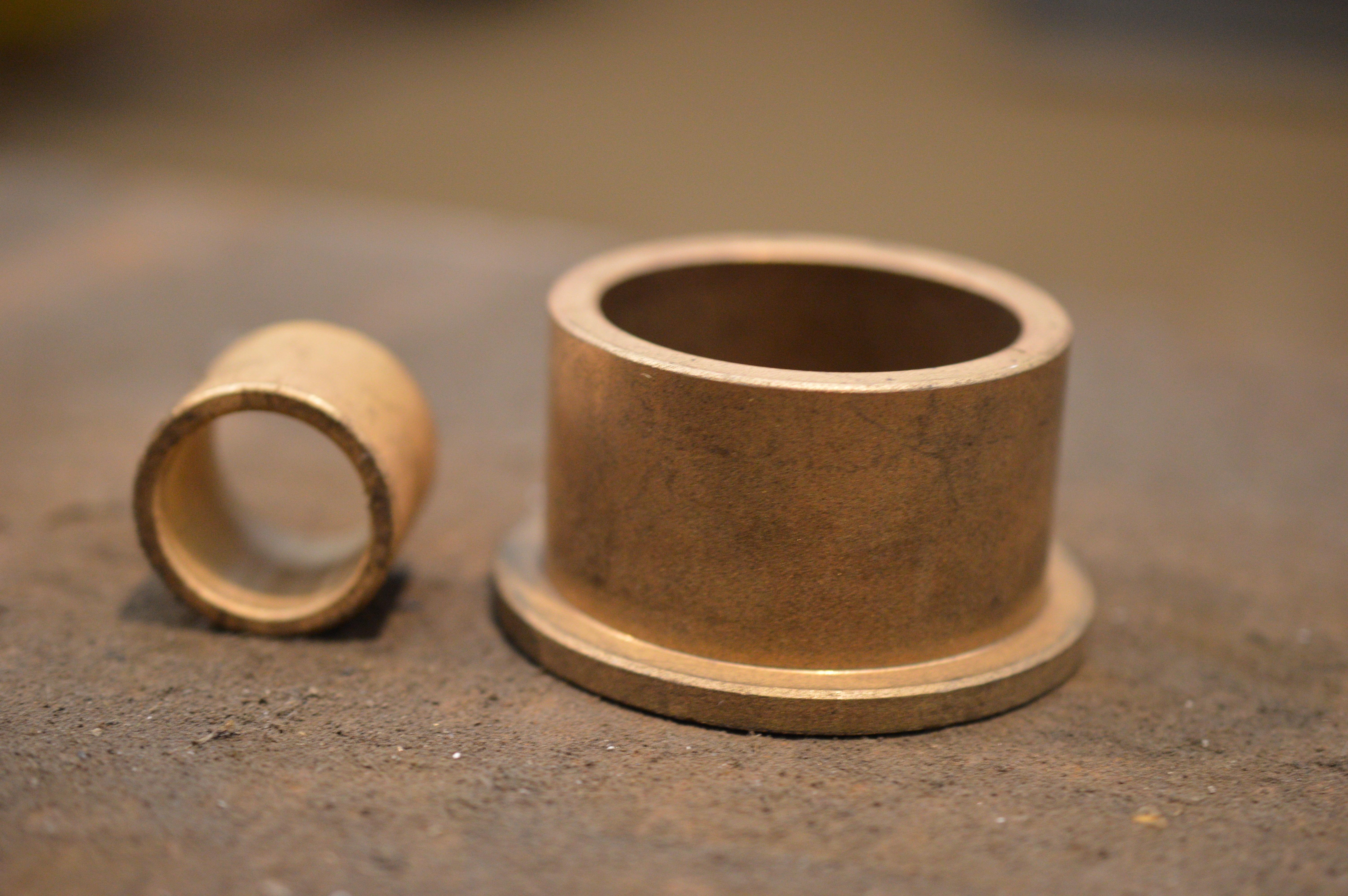 Coussinet bronze fritté